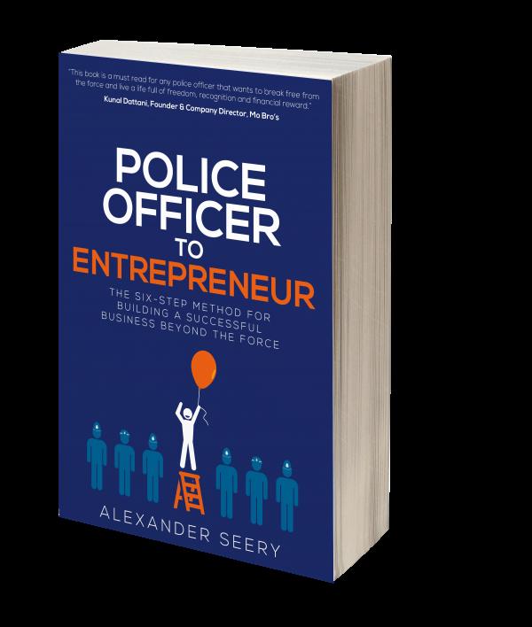 Police Officer to Entrepreneur Cover 3D copy